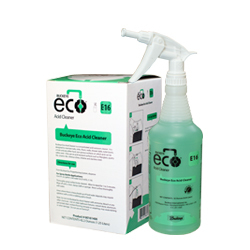 Buckeye Eco Acid Cleaner E16, spray bottle and box