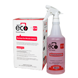 Buckeye Eco Muscle Cleaner E14, spray and box