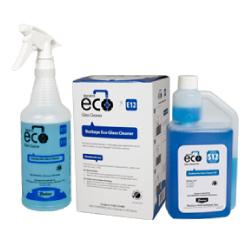 Buckeye Eco Glass Cleaner HD E12 / S12, spray and bottle