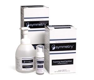Symmetry Fragrance Free Foaming Hand Sanitiser Pack Of 12 550ml