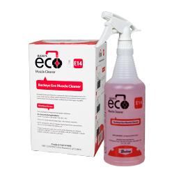 Buckeye Eco Muscle Cleaner E14, spray and box
