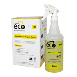 Buckeye Eco All-Purpose Cleaner E11, spray and box
