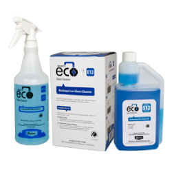 Buckeye Eco Glass Cleaner HD E12 / S12, spray and bottle