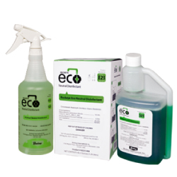 Buckeye Eco Neutral Disinfectant E23 / S23 spray and box.