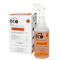 Eco One-Step Disinfectant E22 spray and box